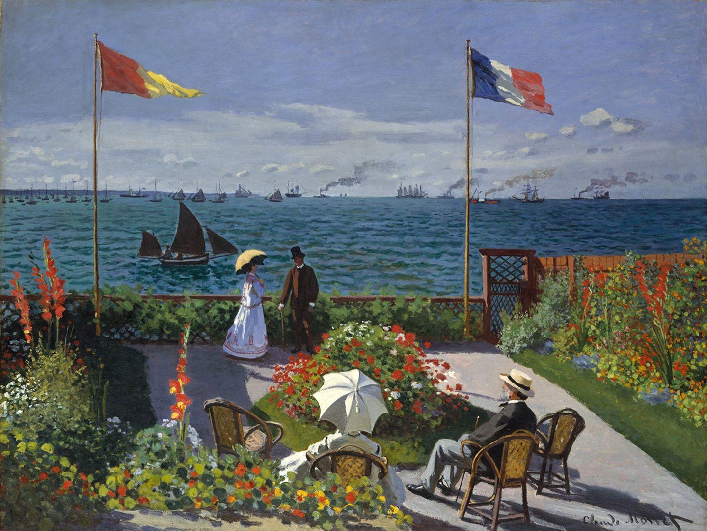 Garten in Sainte-Adresse