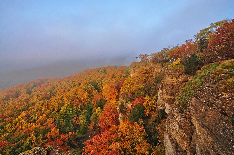 Weserbergland im Herbst