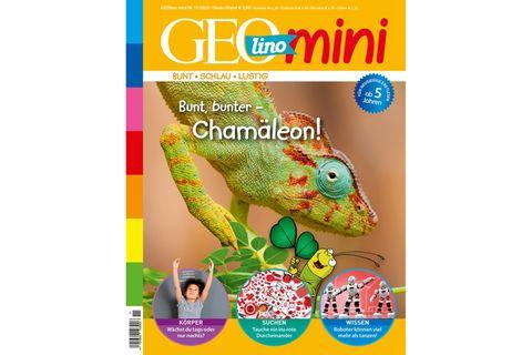 GEOlino Mini Nr. 11/2020: Bunt, Bunter Chamäleon!