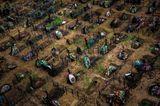 Preisgekrönte Fotografie: Drohnen-Bilder zeigen die Welt im Bann der Pandemie - Bild 7