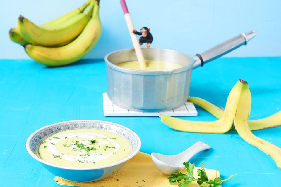 Rezept: Bananensuppe mit Kokosmilch