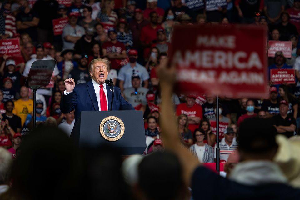 Wahlkampf, Trump