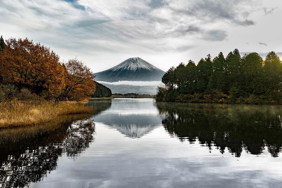 Herbstliche Stimmung um Mt. Fuji