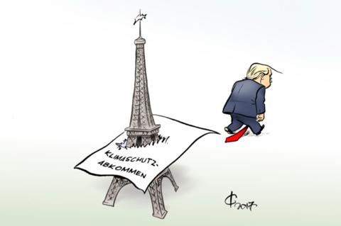 Ausstieg aus dem Pariser Klimaabkommen der USA