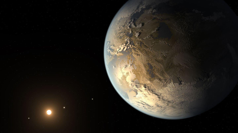 Der Exoplanet Kepler-186f
