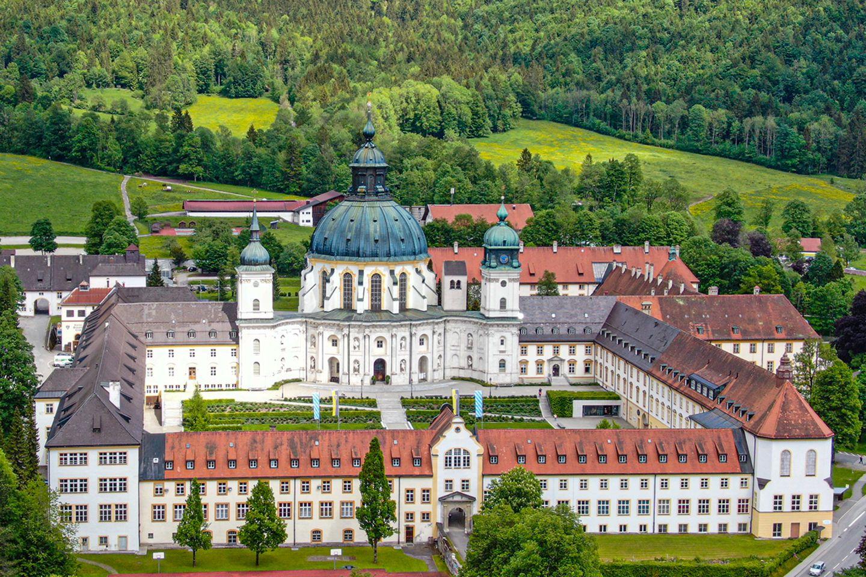 Kloster Ettal, Ammergauer Alpen