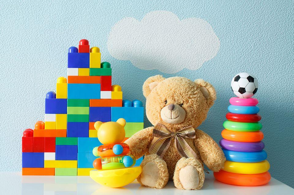 Gesundheitsstudie: Besonders Plastikspielzeug enthält eine Vielzahl an Zusatzstoffen, zum Beispiel die Industriechemikalie Bisphenol A