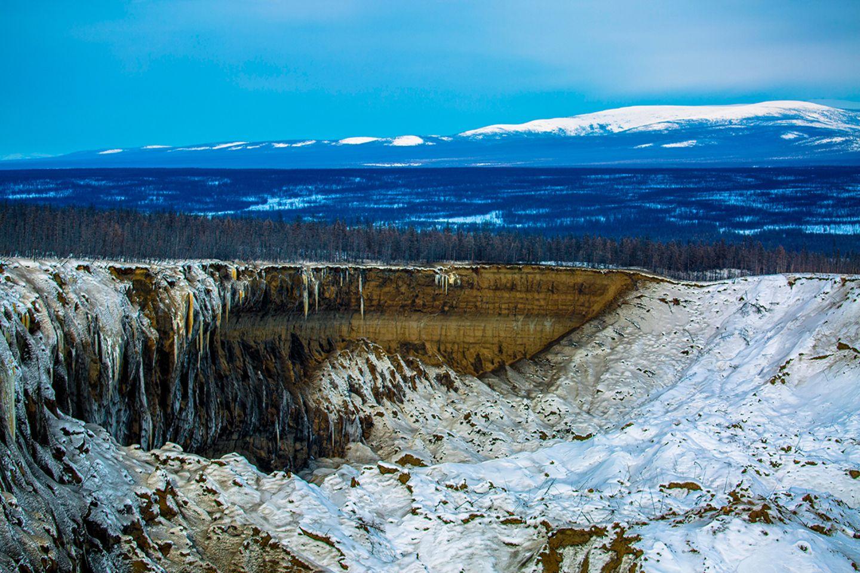 Permafrost-Krater