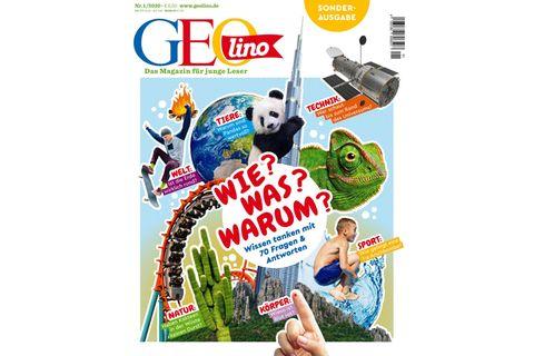 GEOlino Sonderheft: Wie? Was? Warum? Wissen tanken mit 70 Fragen & Antworten