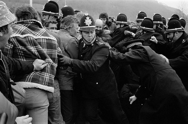 Bergarbeiterstreik in Großbritannien 1984/1985