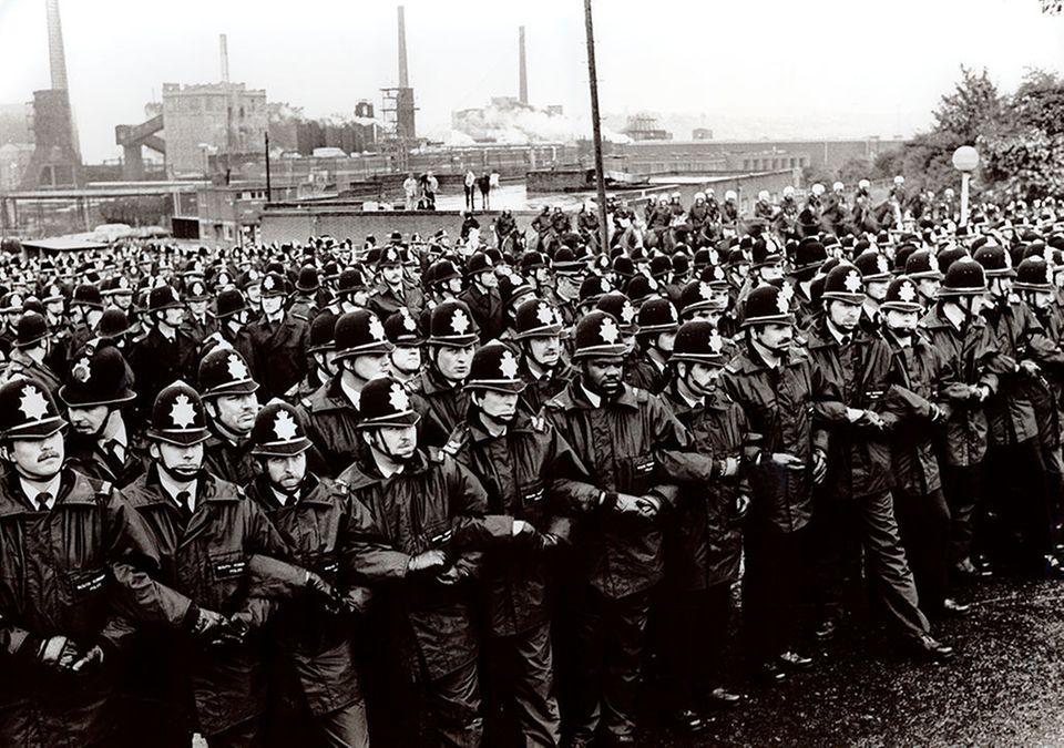 Bergarbeiterstreiks in Großbritannien 1984/1985