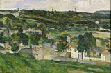Paysage d'Auvers-sur-Oise - Paul Cézanne