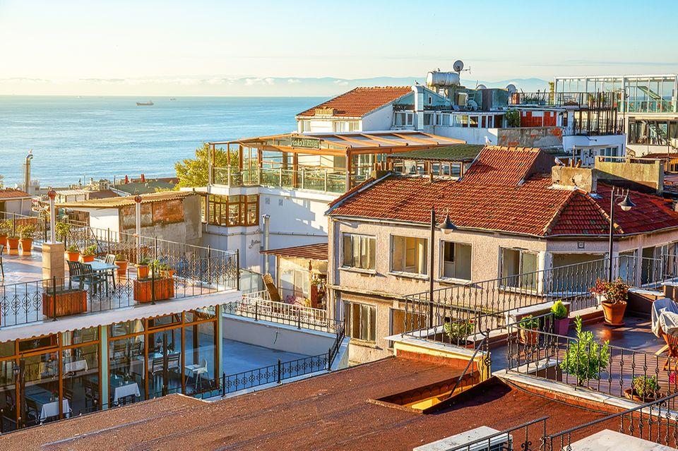 Istanbul - Dachterrassen in der Altstadt