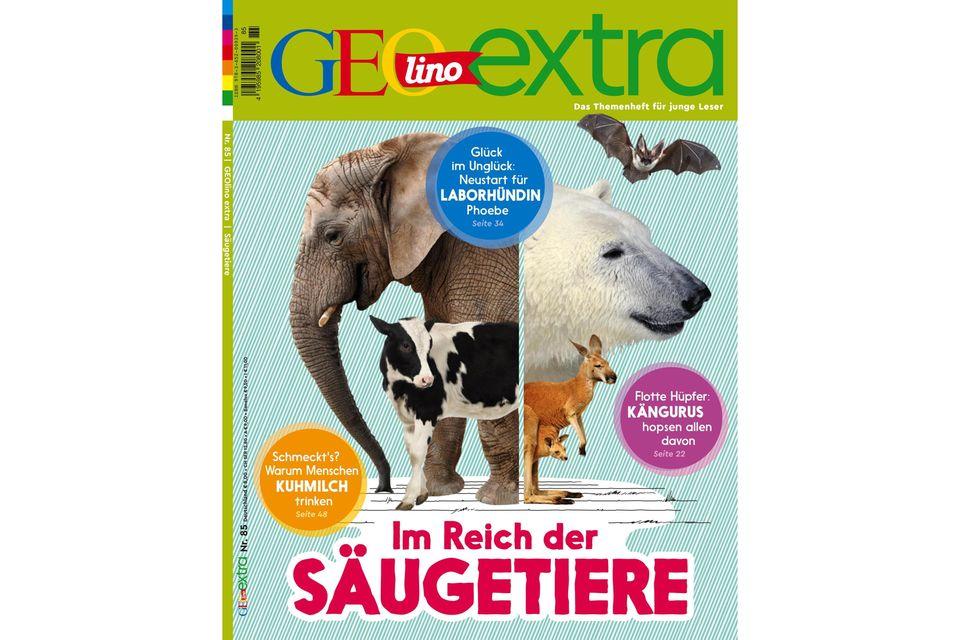 GEOlino Extra Nr. 85: Im Reich der Säugetiere