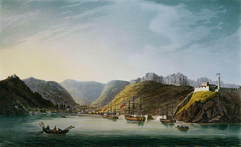 Schlacht von Waterloo: Im Hafen von Portoferraio lässt Napoleon heimlich Schiffe mit Proviant, Waffen und Munition beladen. Und nutzt den Besuch seines britischen Bewachers bei einer Geliebten, um davonzusegeln