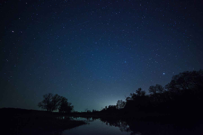 Sternenhimmel im Dezember