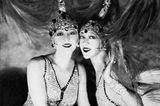 Porträt von den Dolly Sisters
