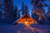 Kota in Finnisch-Lappland
