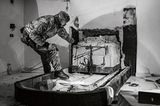 Zugang zu einem 'Ndrangheta-Versteck