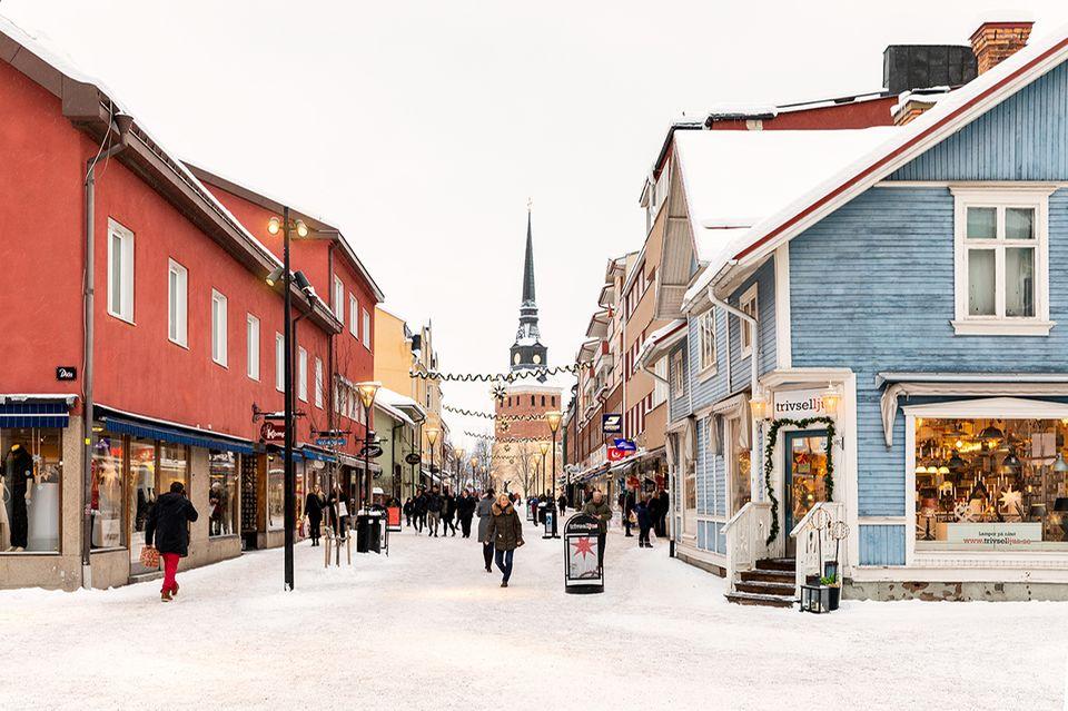 Mora, Schweden