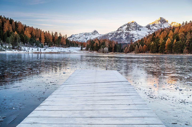 Lej da Staz bei St.Moritz
