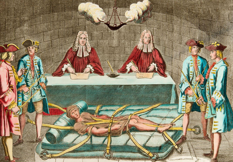Folter des Königsattentäters Robert-François Damiens