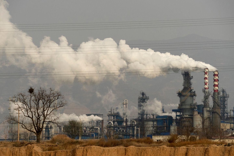 Kohleverarbeitung in China