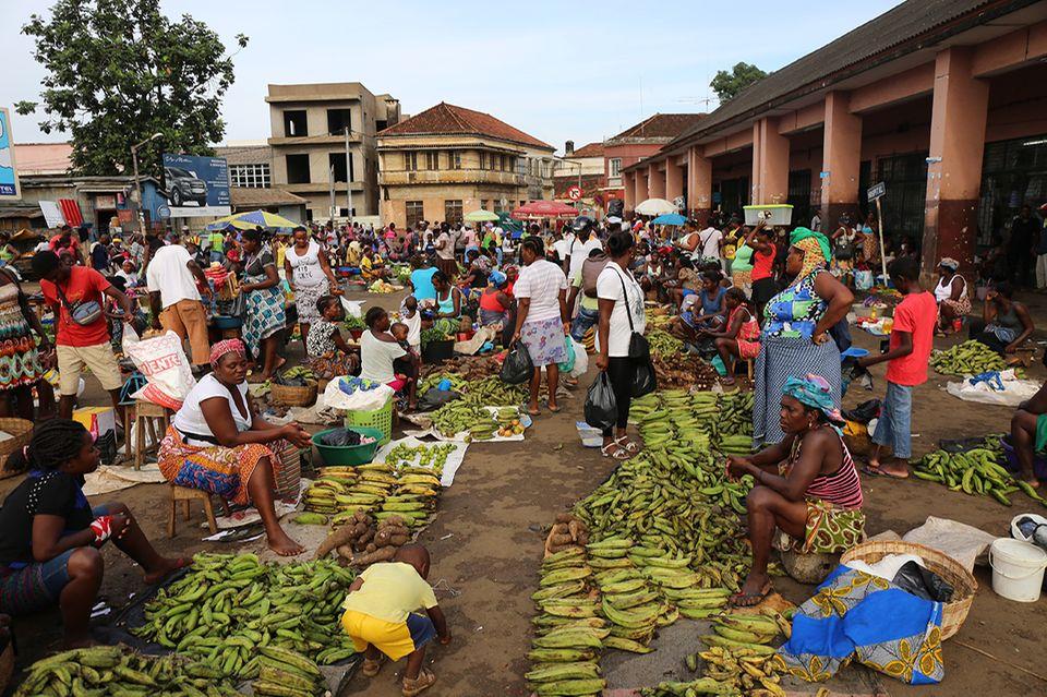 Markt in Sao Tome