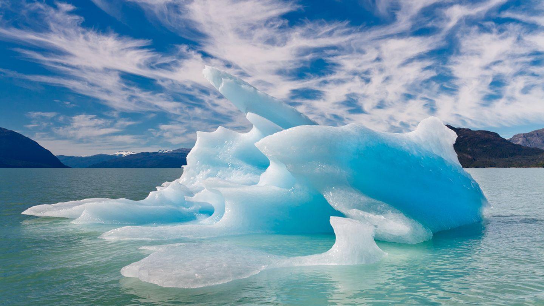 Eisberg in Patagonien
