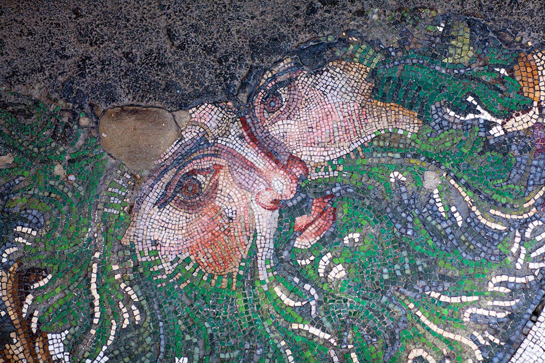 Mosaik aus byzantinischer Zeit