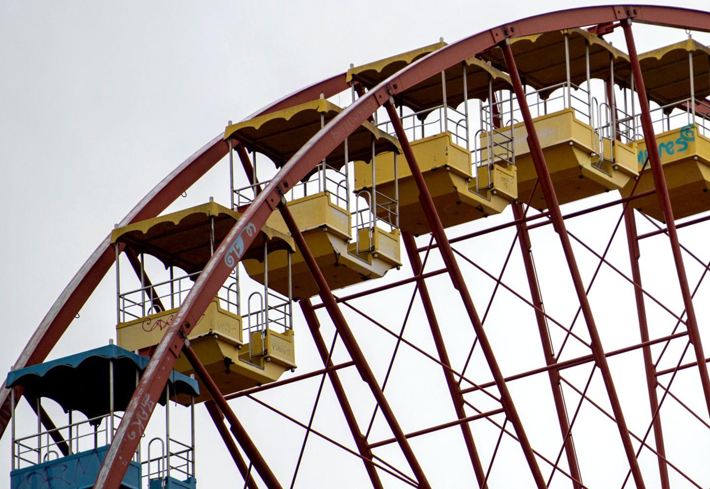 Riesenrad im Spreepark