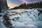Wasserfall Tännforsen