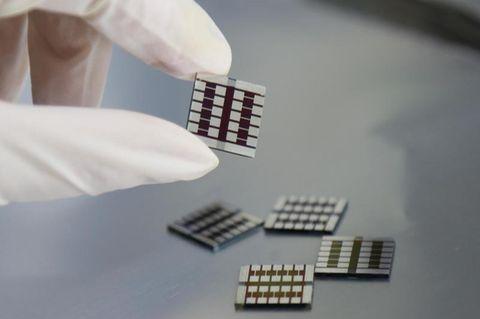 Perowskit-Solarzellen, die Capsaicin enthalten