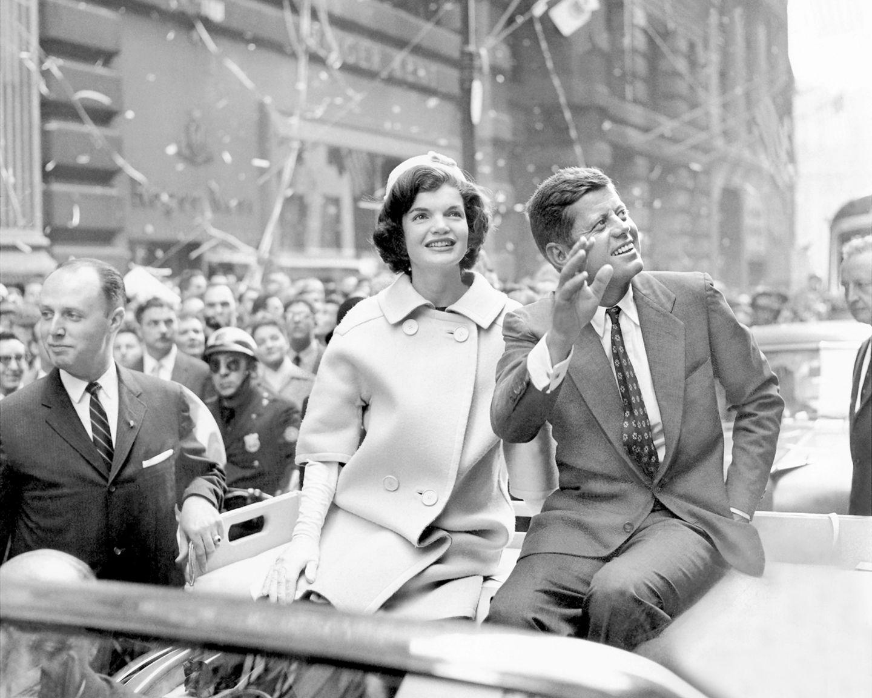 John F. Kennedy und Jackie