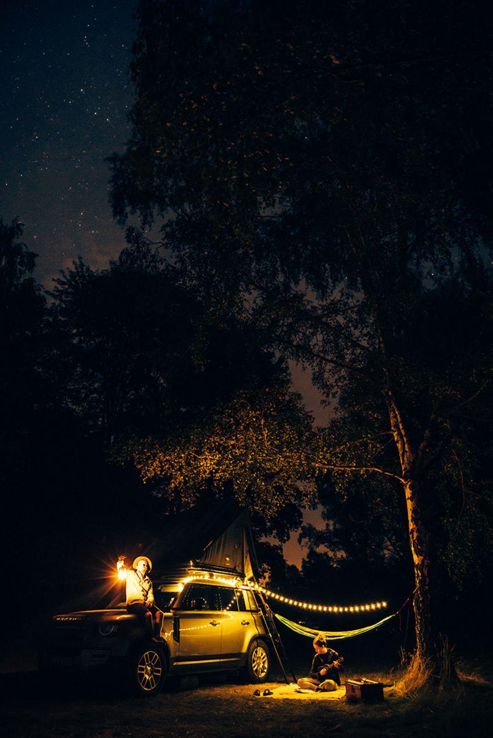 Campieren unterm Sternenhimmel