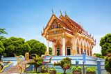 Kunaram-Tempel (Wat Kunaram) auf Koh Samui, Thailand