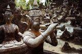 Buddhistische Statuen im Tarnim & Magic Garden, Koh Samui