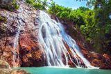 Na Muang Wasserfälle im Dschungel auf Koh Samui, Thailand