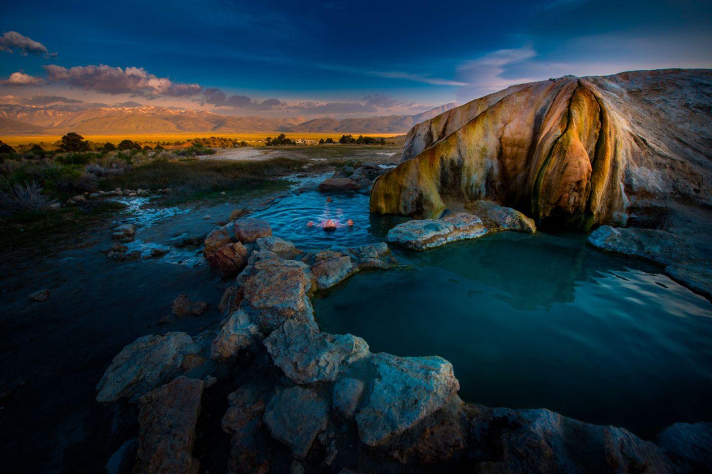 Travertine Hot Springs, Kalifornien