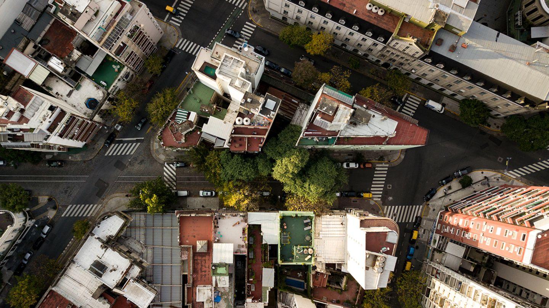 Buenos Aires aus der Luft