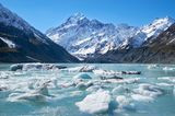 Gletschersee am Mount Cook