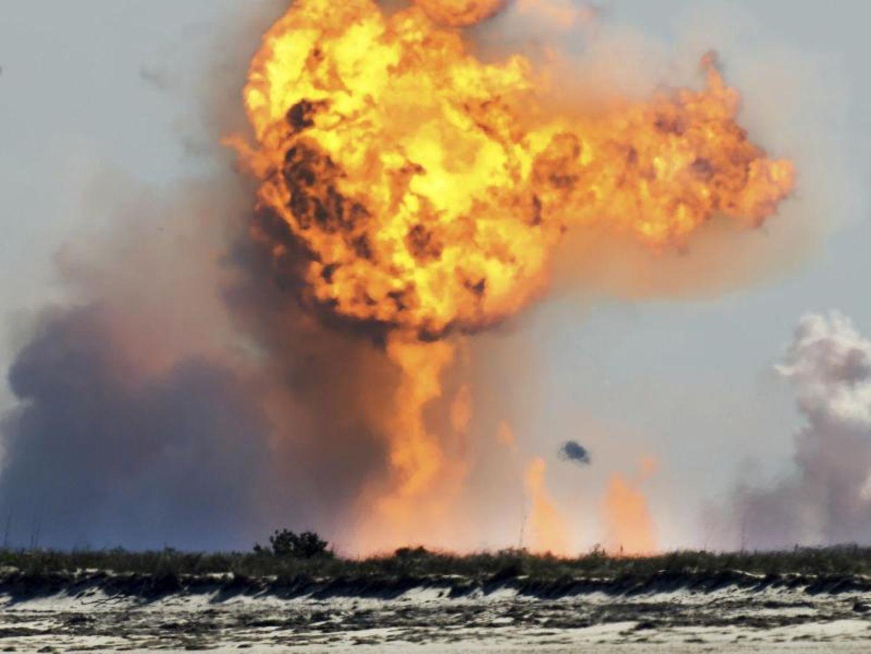 SpaceX explodiert
