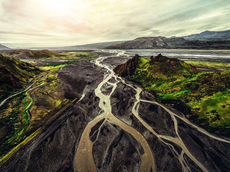 Thorsmörk, Island