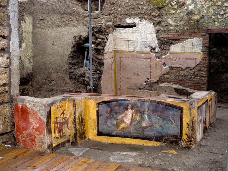 Schnellimbiss in Pompeji