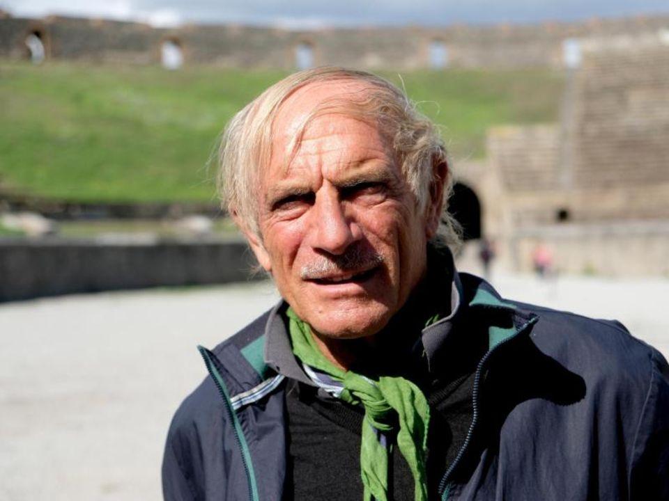 Italien: Mattia Buondonno führt Besucher durch Pompeji