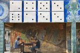 Domino-Spieler in Santiago de Cuba
