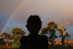 Wettbewerb: Schreibwettbewerb-Sieger: Regenbogenkind