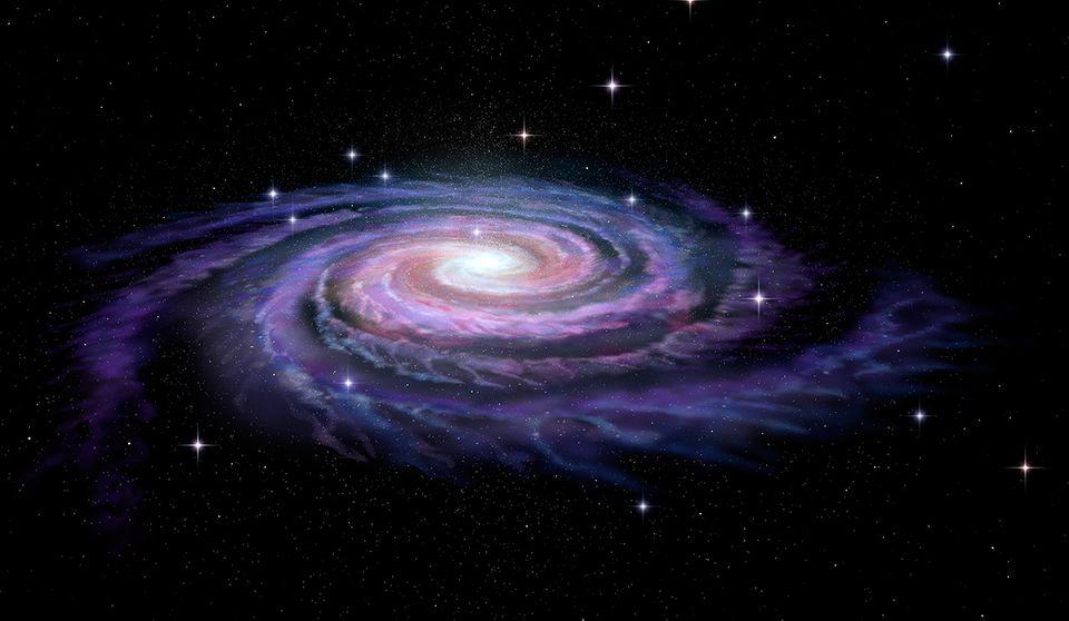 Spiralgalaxie, Milchstraße