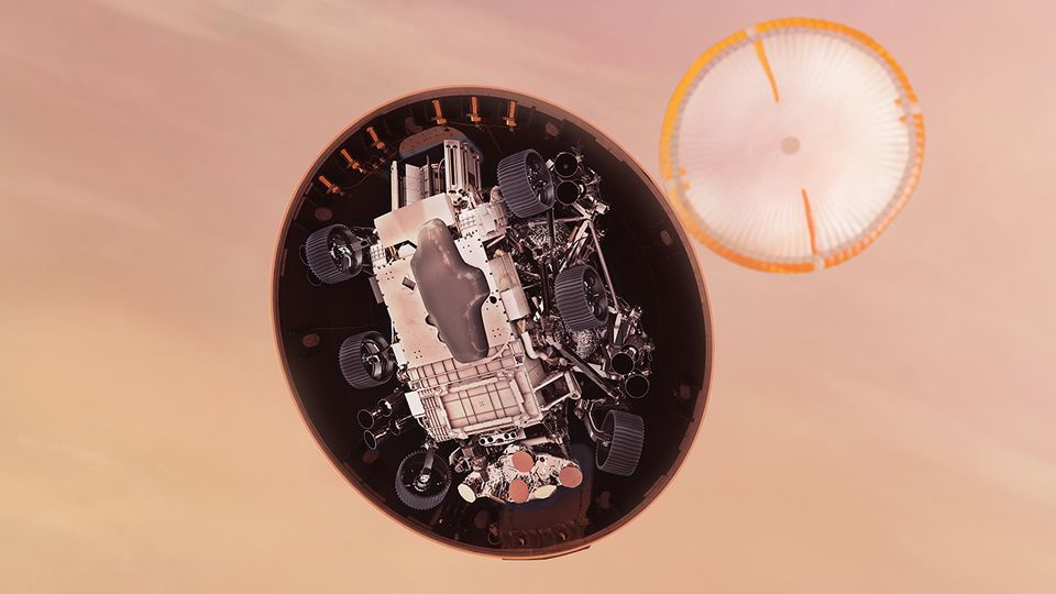 Perseverance-Rover der NASA