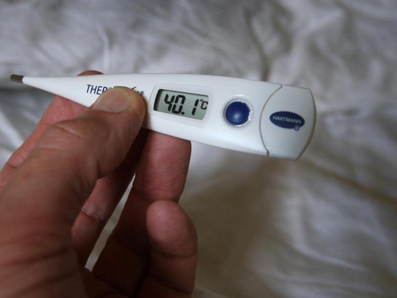 Fieber ist ein Hinweis auf die Sepsis
